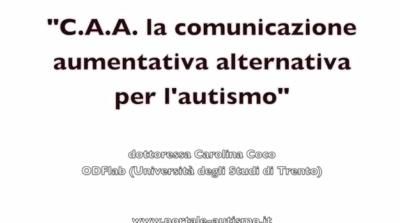 La comunicazione aumentativa alternativa per l'autismo (VIDEO)