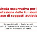 La scheda osservativa per la valutazione delle funzioni di base di soggetti autistici