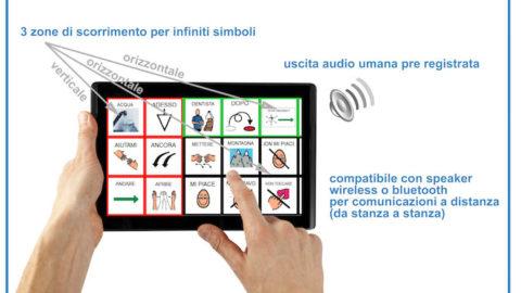 """Dal Trentino """"Blu(e)"""" il tablet Samsung per la Comunicazione, CAA e la terapia"""