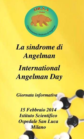 La sindrome di  Angelman –  International  Angelman Day
