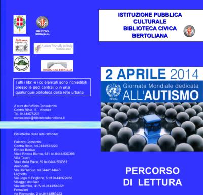 2 aprile, Giornata Mondiale Autismo – EVENTI – VICENZA