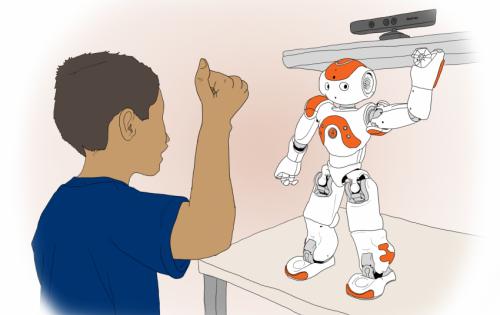 Degli speciali Robot per aiutare i bambini con autismo.