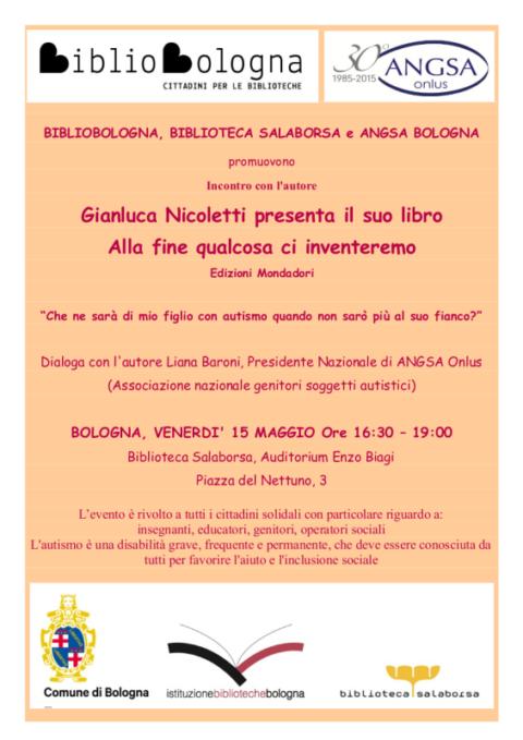 Bologna Venerdi 15 Maggio : Alla fine qualcosa ci inventeremo