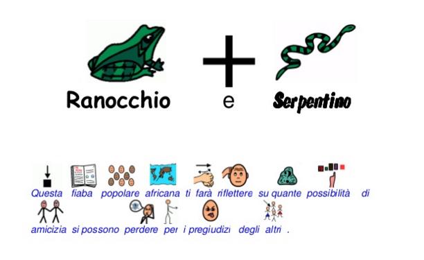 La storia di Ranocchio e Serpentino in CAA