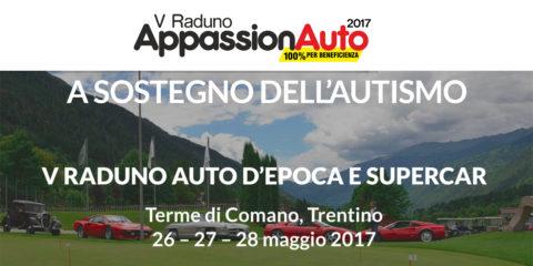 Trentino: Appassionauto, il raduno super car a sostegno dell'autismo