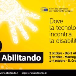 Evento Abilitando 2019: a ottobre la tecnologia incontra la disabilità