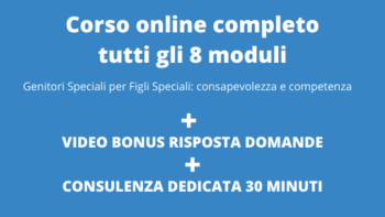 0- Corso completo 8 moduli + video bonus + consulenza dedicata